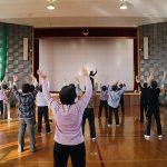 諏訪市公民館 生きがい学級で太極拳体験をいたしました