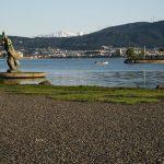 「諏訪湖で朝活。太極拳」2017.5回目を行いました