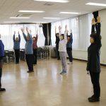 諏訪市公民館講座「八式太極拳を習得しよう」1回目を行いました