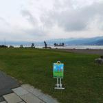 「諏訪湖で朝活。太極拳」2018年の最終回を行いました