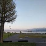 「諏訪湖で朝活。太極拳」2019年3回目を行いました