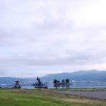 「諏訪湖で朝活。太極拳」2019年7回目を行いました