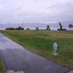 「諏訪湖で朝活。太極拳」2019年 最終の14回目を行いました