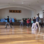 「諏訪湖で朝活。太極拳」締めの特別講座'19を行いました