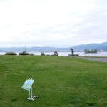 「諏訪湖で朝活。太極拳」2020年4回目を行いました