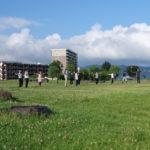 「諏訪湖で朝活。太極拳」2020年の6回目を行いました