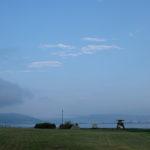 「諏訪湖で朝活。太極拳」2020年の10回目を行いました