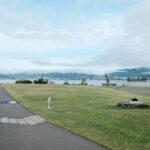 「諏訪湖で朝活。太極拳」2021年の5回目を行いました