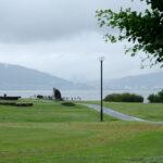 「諏訪湖で朝活。太極拳」2021年6回目は雨で中止でした