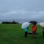 「諏訪湖で朝活。太極拳」2021年12回目は雨で中止…のようなものでした