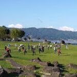 「諏訪湖で朝活。太極拳」2021年13回目を行いました